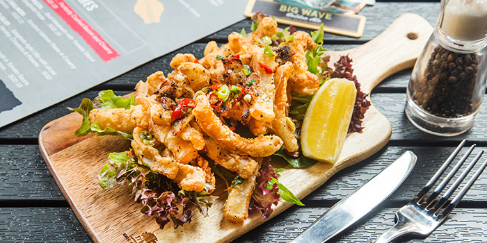 Salt & Pepper Squid from The Fine Line in Holland Village, Singapore