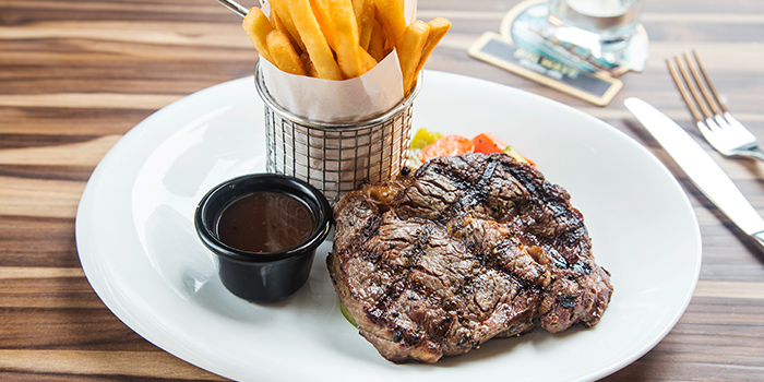 Steak from The Fine Line in Holland Village, Singapore