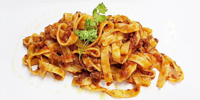 Spicy Sausage Fettucine from Ristorante Da Valentino Singapore at The Grand Stand in Bukit Timah, Singapore