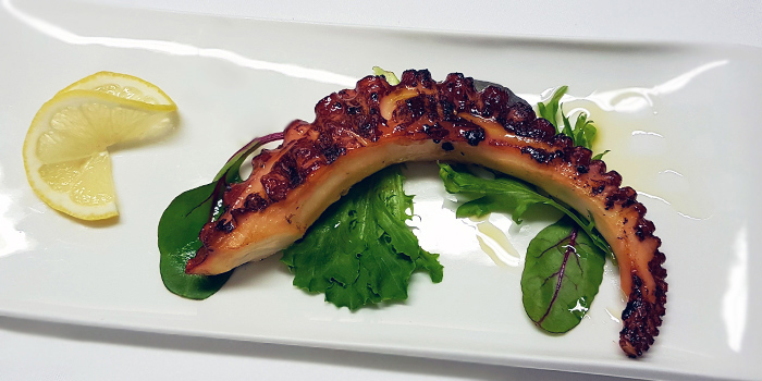 Grilled Octopus Tentacle from Ristorante Da Valentino Singapore at The Grand Stand in Bukit Timah, Singapore