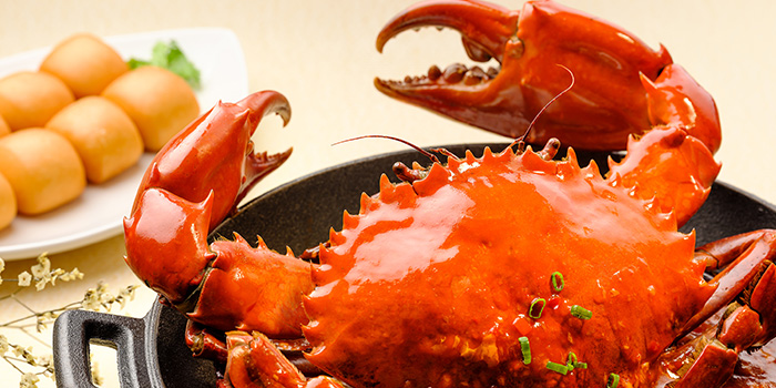 Chili Crab from WOK15 Kitchen in Sentosa, Singapore