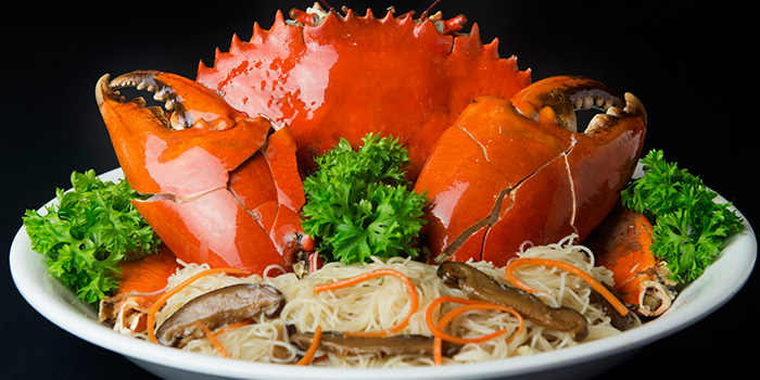 Dry Crab Bee Hoon from House of Seafood (Upper Serangoon) in Serangoon, Singapore