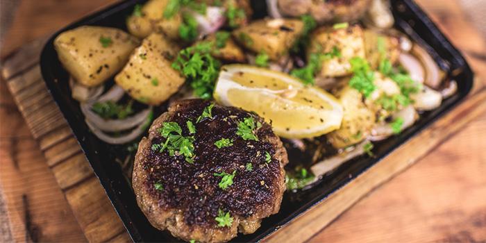 Bifteki Stin Shara - Beef Patties from Blu Kouzina in Dempsey, Singapore