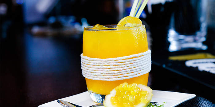 Signature Mocktail from Barnacles at Customs House in Fullerton, Singapore