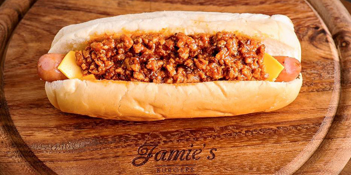 Chili Cheese Dog from Jamie