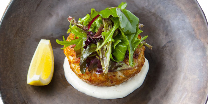 Crab Cake from The Raw Bar at CentralFestival EastVille, Bangkok