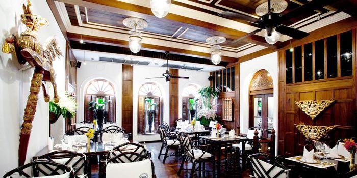Dining Area from Blue Elephant Restaurant in South Sathorn, Bangkok
