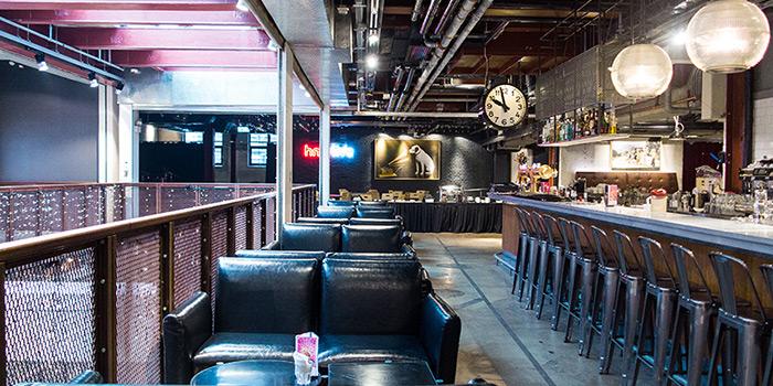 Dining area, hmv Bar & Restaurant, Causeway Bay, Hong Kong