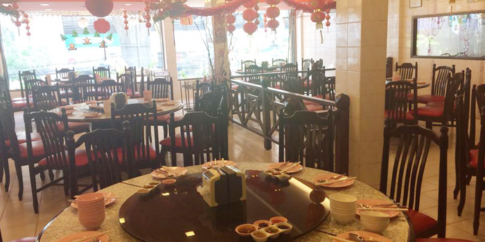 Dining Area from Lhao Lhao Restaurant on Phaholyothin Road, Bangkok