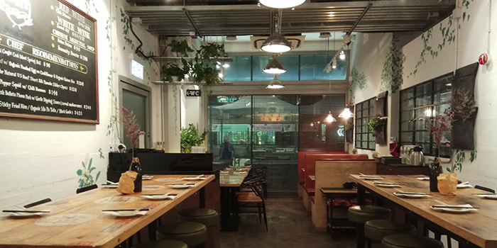 Dining Area, Sohofama, Central, Hong Kong