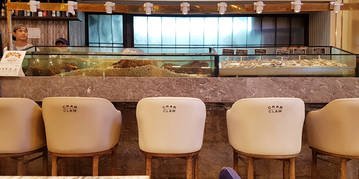 Dining Area from Crab and Claw at Siam Paragon, Bangkok