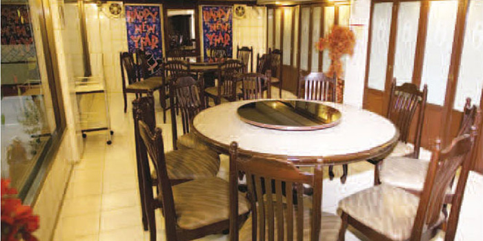 Dining Room from Lhao Lhao Restaurant on Phaholyothin Road, Bangkok