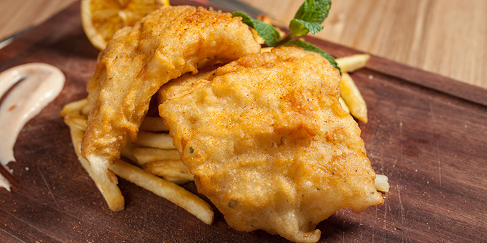 Fish and Chips, Cali-Mex Bar and Grill, Sai Kung, Hong Kong