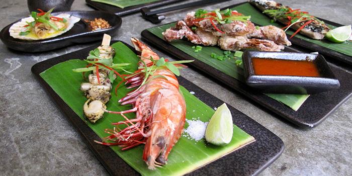 Flower prawn, Fugazi, Kennedy Town, Hong Kong