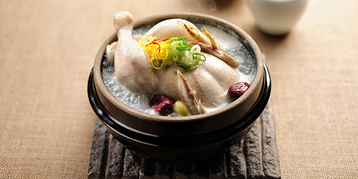 Ginseng Chicken Soup, Hancham BBQ Restaurant (Empire Centre), Tsim Sha Tsui, Hong Kong