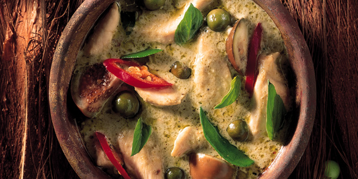 Green Chicken Curry from Blue Elephant Restaurant in South Sathorn, Bangkok