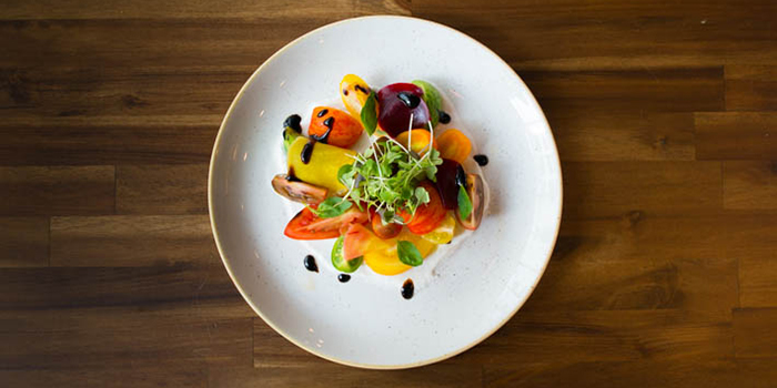 Heritage Tomato Salad, Shoreditch, Kennedy Town, Hong Kong