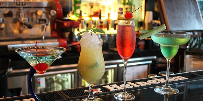 Cocktails from Lobby Lounge & Bar at Holiday Inn Singapore Orchard City Centre in Orchard, Singapore