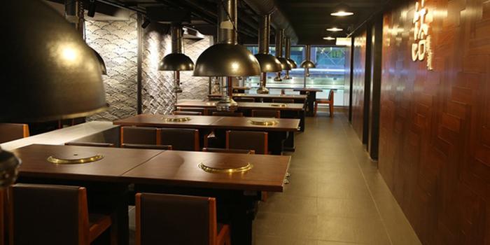 Interior, Hancham BBQ Restaurant (Empire Centre), Tsim Sha Tsui, Hong Kong