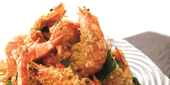 Cereal Prawns from JUMBO Seafood (East Coast Seafood Centre) in East Coast, Singapore