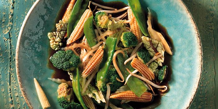 Mixed Vegetables from Blue Elephant Restaurant in South Sathorn, Bangkok