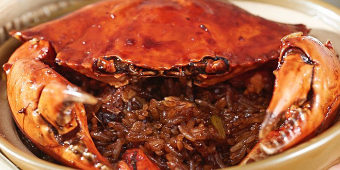 Mud Crab with Sticky Rice, Sohofama, Central, Hong Kong