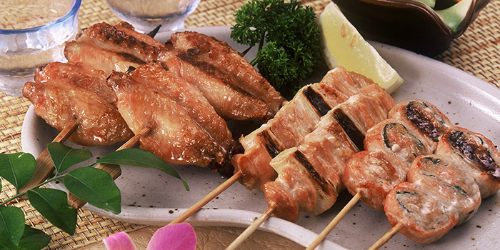 Chicken Skewers from Nanbantei Japanese Restaurant (Chinatown Point) in Chinatown, Singapore