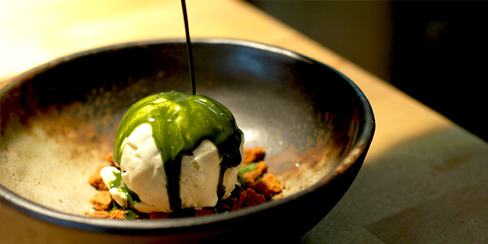 Matcha Affogato from Old Hen Kitchen in Little India, Singapore