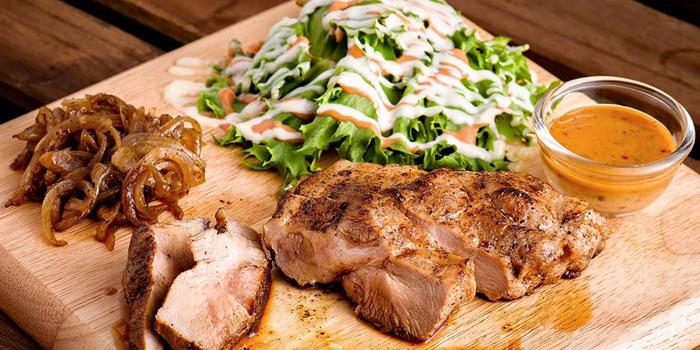 Pork Shoulder Steak from Jamie