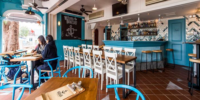Interior, Padstow Restaurant & Bar, Sai Kung, Hong Kong