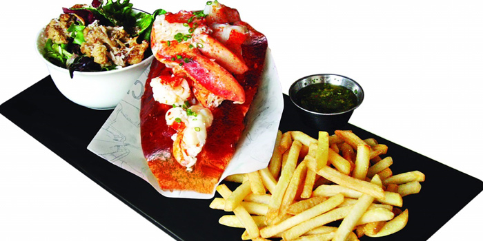 Lobster Role from The Raw Bar at CentralFestival EastVille, Bangkok
