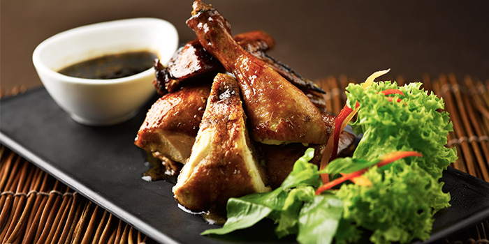 Ayam Panggang Berkakak from Rumah Rasa at Travelodge Harbourfront in Telok Blangah, Singapore