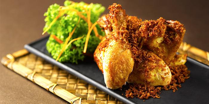 Serunding Ayam from Rumah Rasa at The Bay Hotel in Telok Blangah, Singapore
