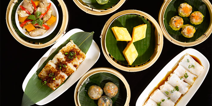 Dim Sum from Shin Yeh at Liang Court Shopping Centre in Clarke Quay, Singapore