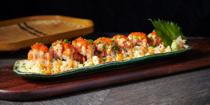 Salmon Spicy Roll from Nippon Kai at Siam Paragon, Bangkok