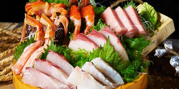 Sashimi Set from Nippon Kai Market - Thonglor Soi 9 at 9:53 Community Mall in Sukhumvit Soi 53, Bangkok