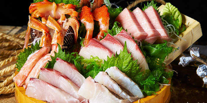 Sashimi Set from Nippon Kai at Siam Paragon, Bangkok