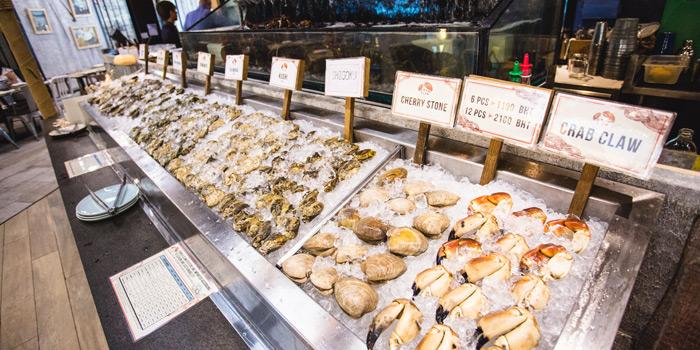 Seafood Counter from Crab and Claw at Siam Paragon, Bangkok