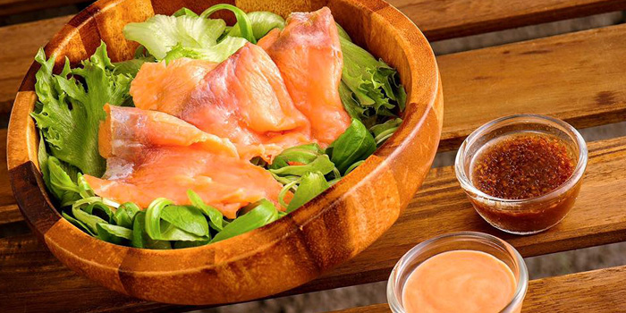 Smoked Salmon Salad from Jamie