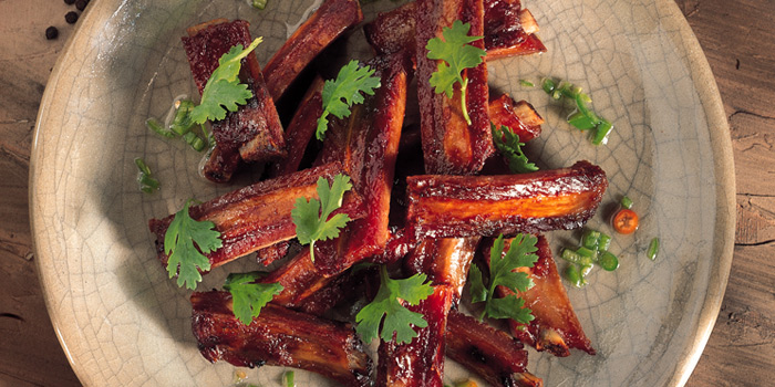 Spare Ribs with Honey