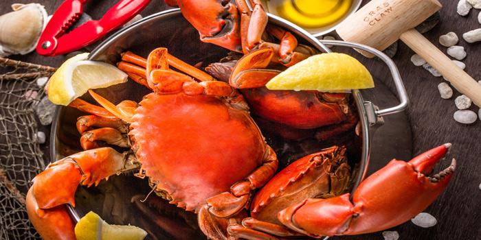 Steamed Crab from Crab and Claw at Siam Paragon, Bangkok