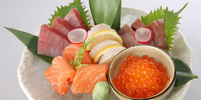 Assorted Sashimi from Sumire Yakitori House in Bugis, Singapore