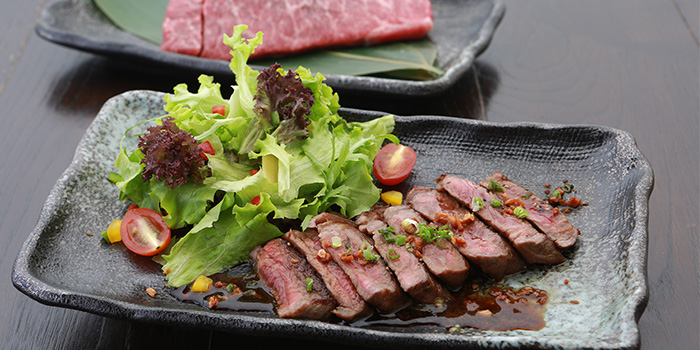 Beef from Sumire Yakitori House in Bugis, Singapore