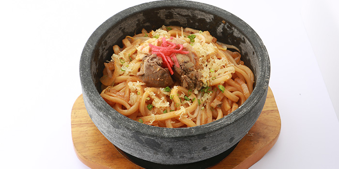 Hot Stone Udon from Sumire Yakitori House in Bugis, Singapore