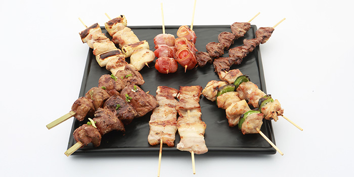 Yakitori Platter from Sumire Yakitori House in Bugis, Singapore