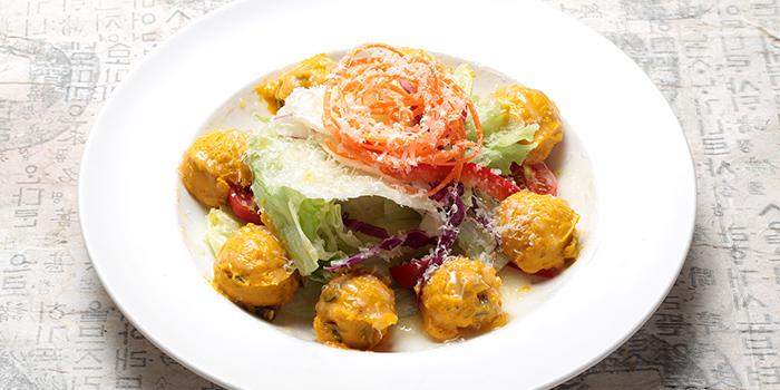 Sweet Pumpkin Salad, Hancham BBQ Restaurant (Empire Centre), Tsim Sha Tsui, Hong Kong