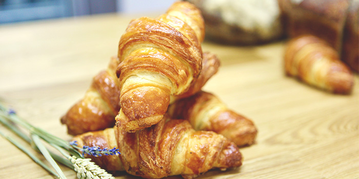 Croissants from The Fabulous Baker Boy in Clarke Quay, Singapore