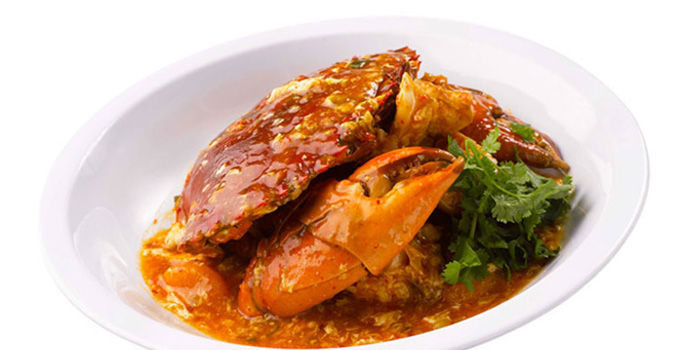 Chilli Crab from TungLok Seafood (Arena Country Club) in Jurong, Singapore