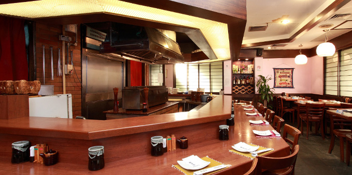Interior of Nanbantei Japanese Dining in Orchard, Singapore
