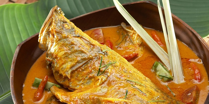 Gulai Fish Head at Seribu Rasa Menteng